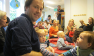 All dads together: my new life among Sweden's latte pappas