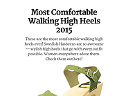 Most Comfortable Walking High Heels 2015