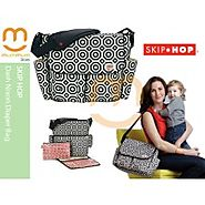 Skip hop bags NZ dash nixon diaper bag in multi colour