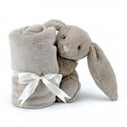 Jellycat bunny bashful beige ultra soft soother NZ