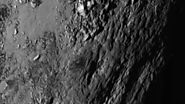 New Horizons Reveals Ice Mountains on Pluto