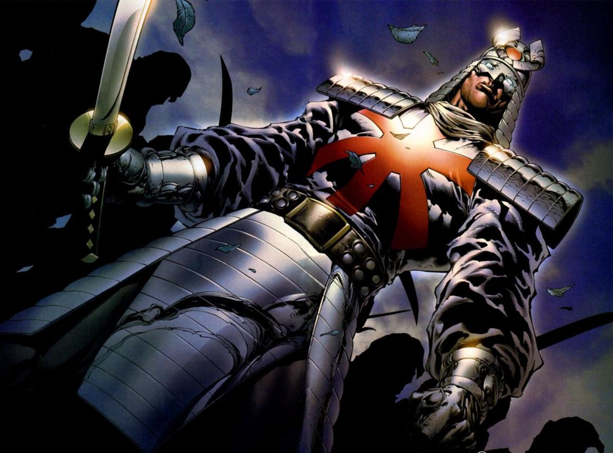 Headline for Silver Samurai Appearances in Comic Books