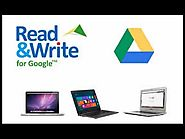 Google Read & Write-- the basics