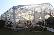 Transparent Tent For Wedding Venue - Luxury Wedding Tent
