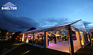 Clear Span Tent - Party Marquee - Luxury Wedding Tent