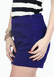 Rockabilly Shorts - Blue