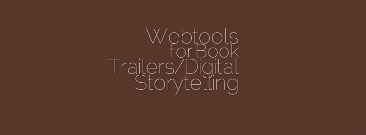 Headline for Ten+ Webtools for Digital Storytelling and Book Trailers