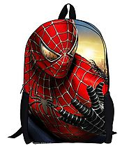 Bebamour New Style Spiderman Patterns Back to School Backpacks Superman School Bags