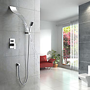 Contemporary Waterfall Shower Faucet with Shower head At FaucetsDeal.com