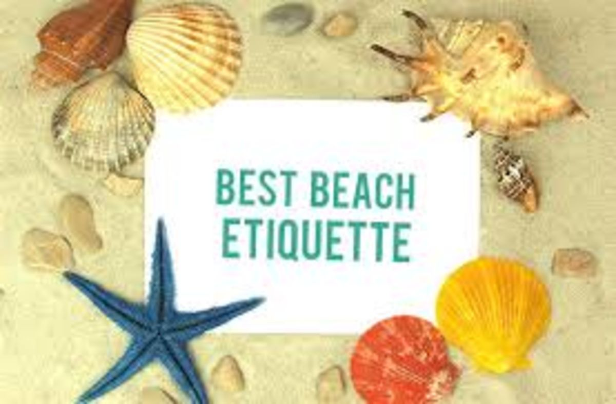 Headline for Etiquette on the beach - Beach Etiquette Guidelines for Holidaymakers