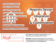 Magento customization services as per demand of clients