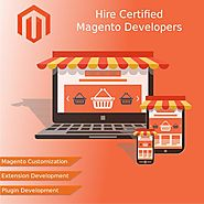 Developers primary focus is on Magento website development
