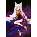 Sailor Moon Black Lady Long Pink Cosplay Wig -- CosplayDeal.com