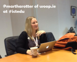 With @martharotter at #ictedu
