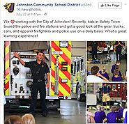 Johnston Community School District partners with the city to offer fun, informative programming for kids.