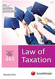 Quick Reference Guide Q & A - Law of Taxation