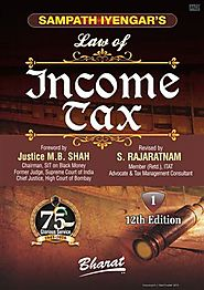 Sampath Iyengar's Law of Income Tax (In 11 vols) Complete Set Ready Vol. 11: Containing Commentary on Wealth Tax Act ...