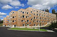 SOPP Lillehammer Wrapped in Kebony Cladding