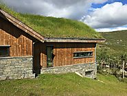 Grass Roof on Kebony Cladding