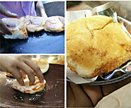 Cheese Garlic Pav in Matunga