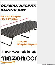 Extra Large Camping Cots For Heavy People | For Big And Heavy People