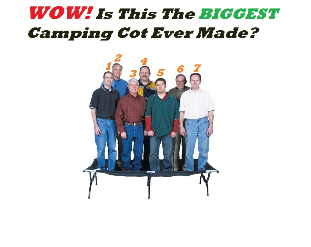 Headline for Heavy Duty XL Camping Cots For Heavy People