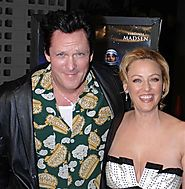 Virginia and Michael Madsen