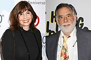 Talia Shire and Francis Ford Coppola