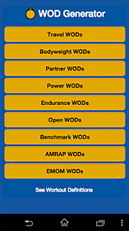 WOD Generator - Android Apps on Google Play