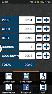 HIIT interval training timer - Android Apps on Google Play