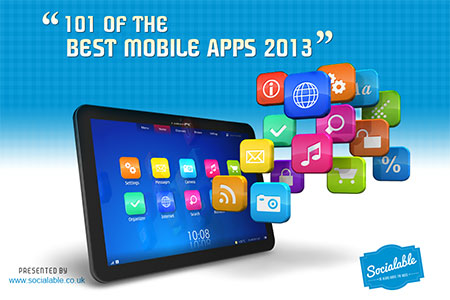 Headline for 101 of the Best Mobile Apps 2013