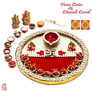 Best Pooja Thali For Diwali From Infibeam