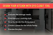Design Your Kitchen With DYO Closet Tool