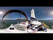 360° video: Sail under the Golden Gate Bridge