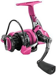 Pink Fishing Reel For A Fisherwoman On Your List * Fins Catcher