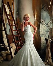 Stylish Bridal Dress from Mori Lee
