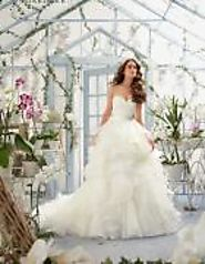 Unique combination of Glamorous and elegant wedding dresses
