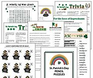 Saint Patrick's Day Party Games Pack