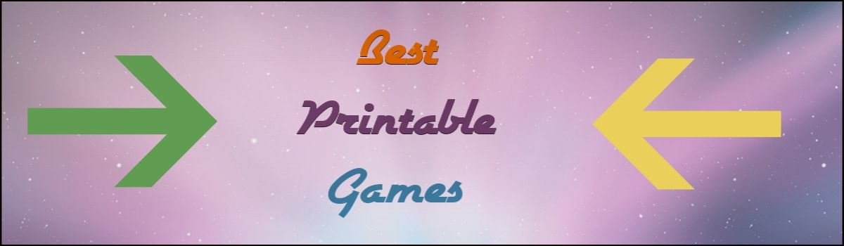 Headline for Best Fun Printable Games For All