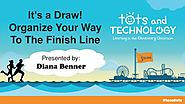 It's a Draw! Organize Your Way To The Finish Line - Tots & Tech 2015