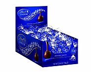 Lindt LINDOR Dark Chocolate Truffles, 60 Count Box