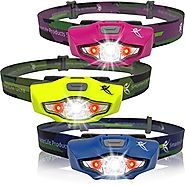 SmartLite Ultra Bright LED Headlamp - Lightweight, Super Bright -- #1 Flashlight for Running, Hiking, Cycling, Campin...