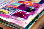 Art Journaling 101 - abstract - create explore paint
