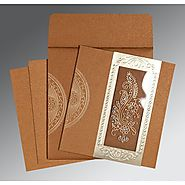 Indian Wedding Cards - IN-8230Q
