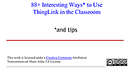 88+ Interesting Ways to Use ThingLink in the Classroom