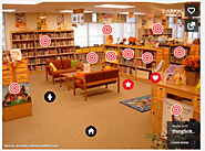 Bruce-Guadalupe Community School: Elementary Library Map Using ThingLink