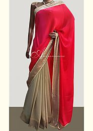 Georgette Sarees Online Shopping at Best Price - Aavaranaa
