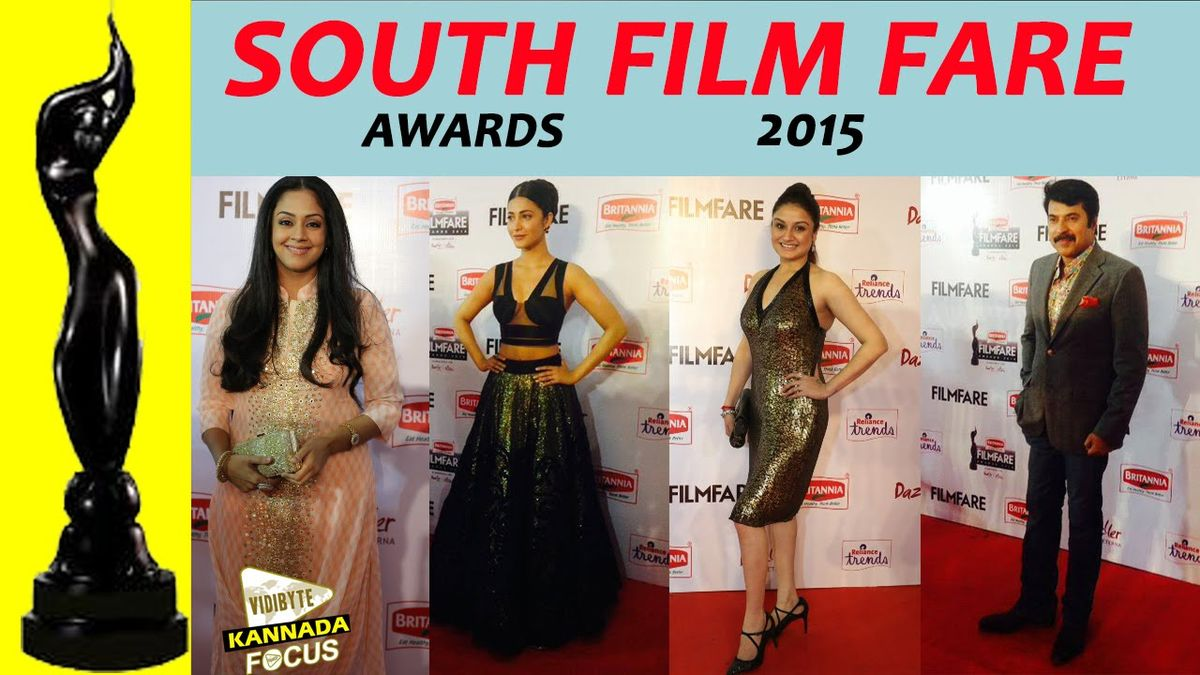 Headline for Winners List of Filmfare Awards South 2015 (TAMIL)