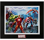 Marvel Defenders lithograph