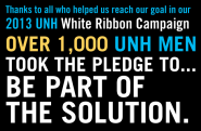 UNH White Ribbon Campaign | Sexual Harassment and Rape Prevention Program (SHARPP)